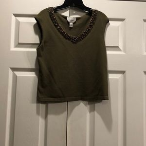 🐚 Talbots Collection Tank Top